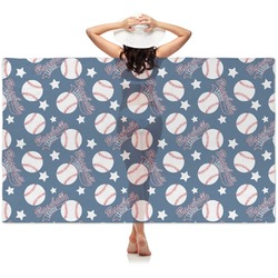 Baseball Sheer Sarong (Personalized)