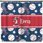 Baseball Shower Curtain (Personalized)