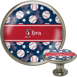 Baseball Cabinet Knobs (Personalized)