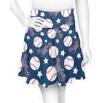 Baseball Skater Skirt (Personalized)
