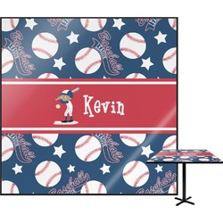 """Baseball Square Table Top - 24"""" (Personalized)"""