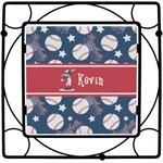 Baseball Square Trivet (Personalized)