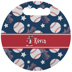 Baseball Stadium Cushion (Round) (Personalized)