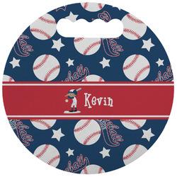 Baseball Stadium Cushion (Round) (Personalized)