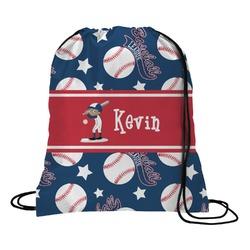 Baseball Drawstring Backpack - Large (Personalized)