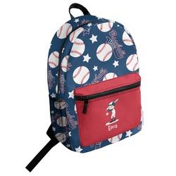Baseball Student Backpack (Personalized)