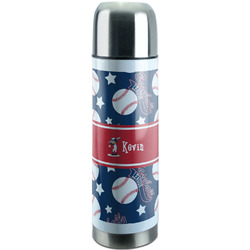 Baseball Stainless Steel Thermos (Personalized)