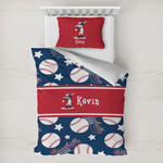 Baseball Toddler Bedding w/ Name or Text