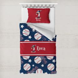 Baseball Toddler Bedding w/ Name or Text