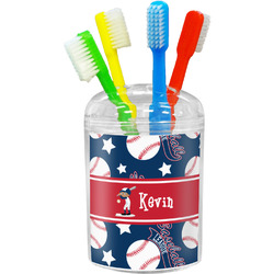 Baseball Toothbrush Holder (Personalized)