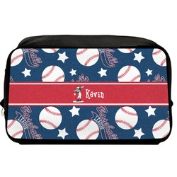 Baseball Toiletry Bag / Dopp Kit (Personalized)