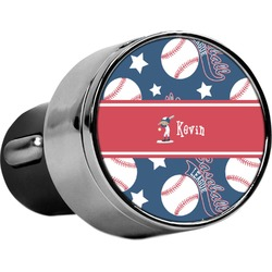 Baseball USB Car Charger (Personalized)