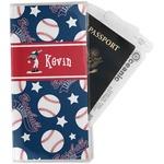 Baseball Travel Document Holder