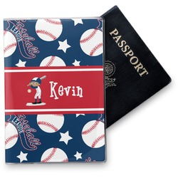 Baseball Vinyl Passport Holder (Personalized)