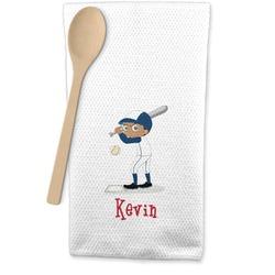 Baseball Waffle Weave Kitchen Towel (Personalized)