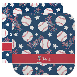 Baseball Facecloth / Wash Cloth (Personalized)