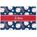 Baseball Woven Mat (Personalized)