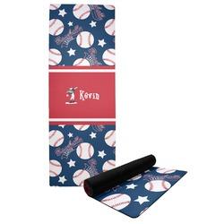 Baseball Yoga Mat (Personalized)