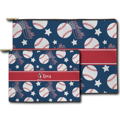 Baseball Zipper Pouch (Personalized)