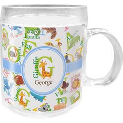 Animal Alphabet Acrylic Kids Mug (Personalized)