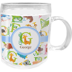 Animal Alphabet Acrylic Kids Mug (Personalized)