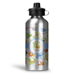 Animal Alphabet Water Bottle - Aluminum - 20 oz (Personalized)
