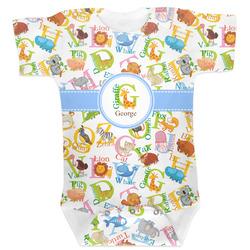 Animal Alphabet Baby Bodysuit (Personalized)