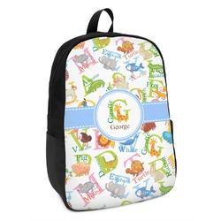 Animal Alphabet Kids Backpack (Personalized)