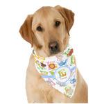Animal Alphabet Dog Bandana Scarf w/ Name or Text