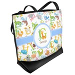 Animal Alphabet Beach Tote Bag (Personalized)