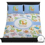 Animal Alphabet Duvet Covers (Personalized)