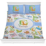 Animal Alphabet Comforter Set (Personalized)