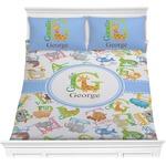 Animal Alphabet Comforters (Personalized)