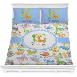 Animal Alphabet Comforters (Personalized)