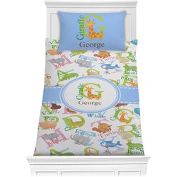 Animal Alphabet Comforter Set - Twin (Personalized)