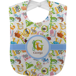 Animal Alphabet Baby Bib (Personalized)
