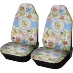 Animal Alphabet Car Seat Covers (Set of Two) (Personalized)