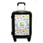 Animal Alphabet Carry On Hard Shell Suitcase (Personalized)