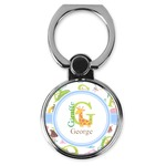 Animal Alphabet Cell Phone Ring Stand & Holder (Personalized)