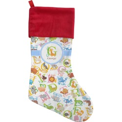 Animal Alphabet Christmas Stocking (Personalized)