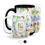 Animal Alphabet Coffee Mugs (Personalized)