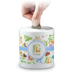 Animal Alphabet Coin Bank (Personalized)