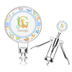 Animal Alphabet Corkscrew (Personalized)