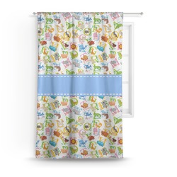 Animal Alphabet Curtain (Personalized)