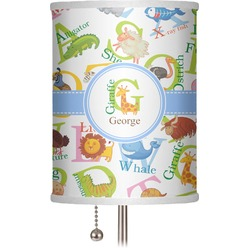"Animal Alphabet 7"" Drum Lamp Shade (Personalized)"