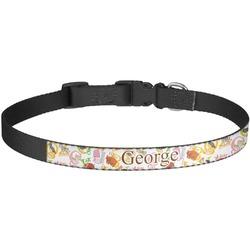 Animal Alphabet Dog Collar - Large (Personalized)