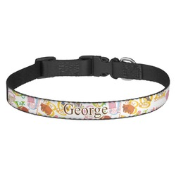 Animal Alphabet Dog Collar - Multiple Sizes (Personalized)