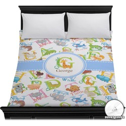 Animal Alphabet Duvet Cover (Personalized)