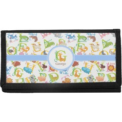 Animal Alphabet Canvas Checkbook Cover (Personalized)