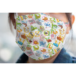 Animal Alphabet Face Mask Cover (Personalized)